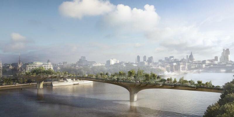 Garten-Brücke für London - Foto: Arup
