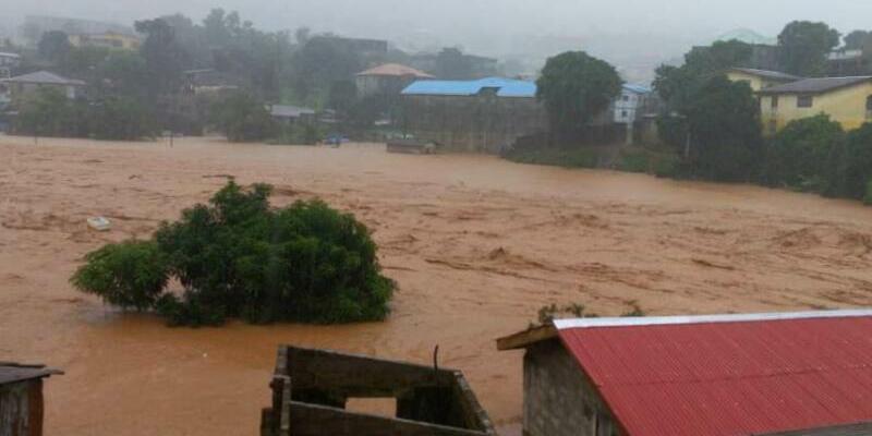 Erdrutsch in Sierra Leone - Foto: Society 4 Climate Change Communication, Sierra Leone/AP