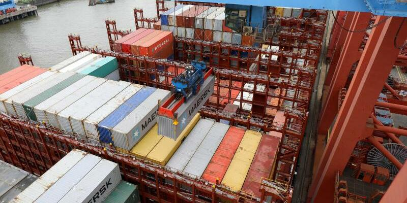 Containerriese «Munich Maersk» - Foto: Christian Charisius