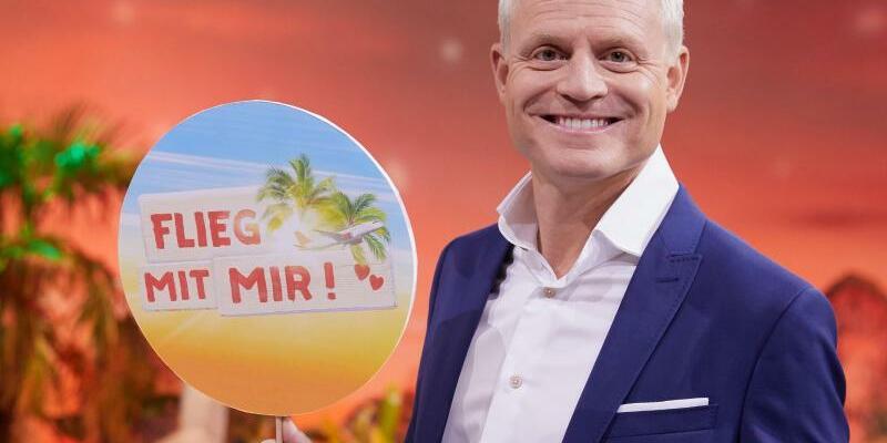 Quiz-Sendung «Flieg mit mir!» mit Cantz - Foto: Georg Wendt