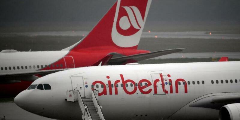 Air Berlin - Foto: Die Zukunft von Air Berlin ist noch in der Schwebe. Foto:Britta Pedersen