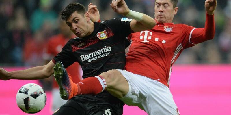 FC Bayern München - Bayer Leverkusen - Foto: Andreas Gebert