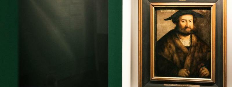 «Das Gesicht. Eine Spurensuche» - Foto: Das Porträt «David Dettigkhofer» von Christoph Amberger aus dem Jahr 1577. Foto: Foto: Oliver Killig