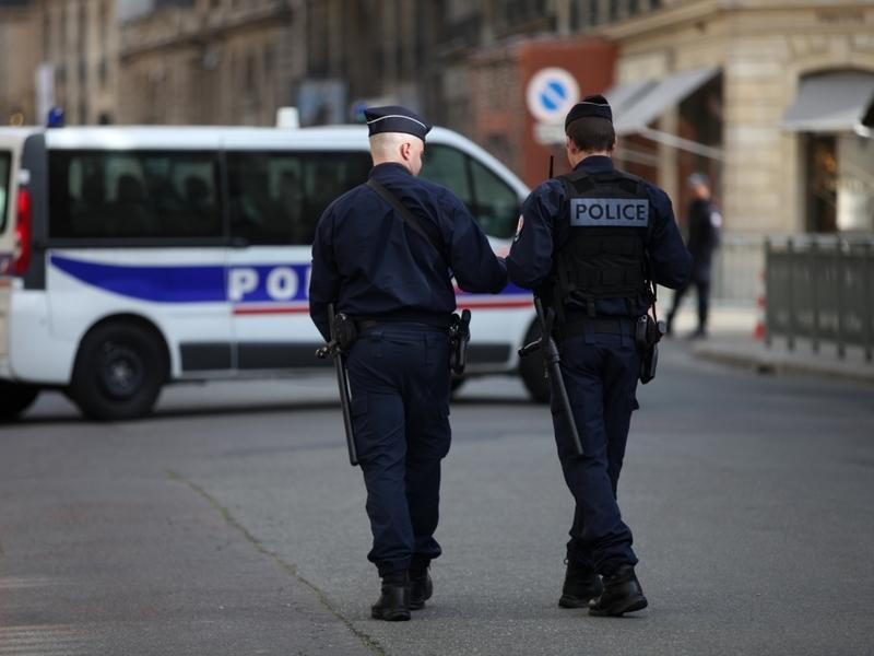 Französische Polizisten - Foto: über dts Nachrichtenagentur