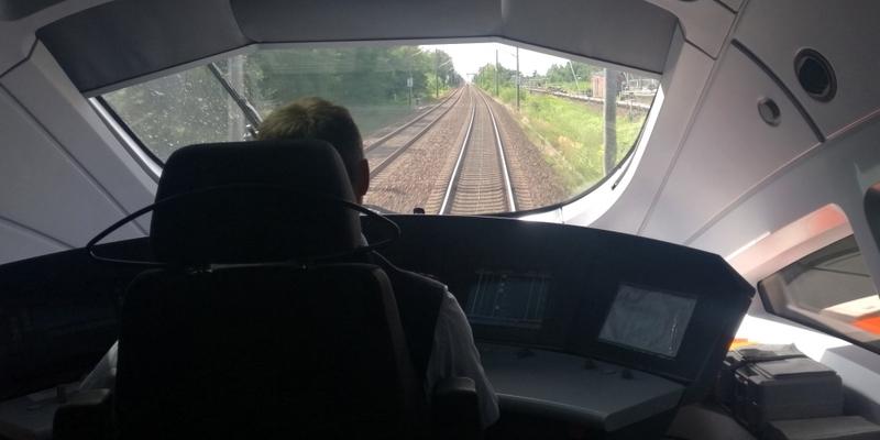 ICE-Lokführer bei der Deutschen Bahn - Foto: über dts Nachrichtenagentur