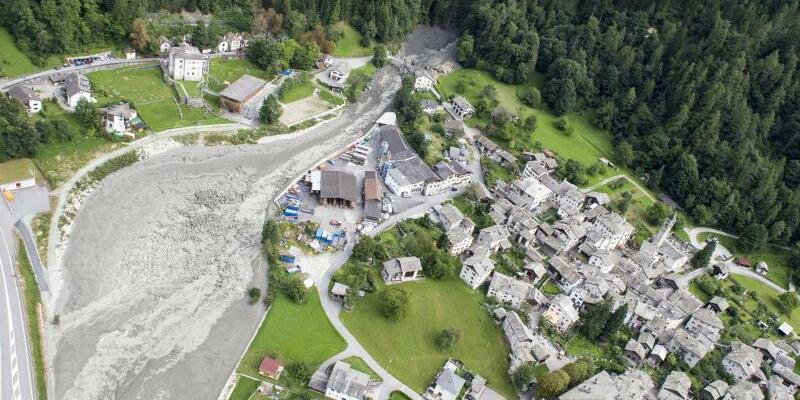 Bergsturz im Schweizer Kanton Graubünden - Foto: Giancarlo Cattaneo