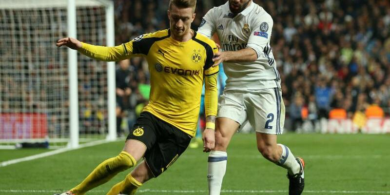 Real Madrid - Borussia Dortmund - Foto: Friso Gentsch