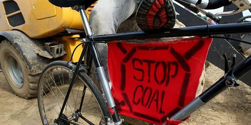 Protest gegen Braunkohle - Foto: Oliver Berg
