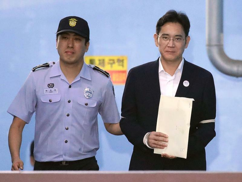 Samsung-Erbe Lee - Foto: Chung Sung-Jun/POOL Getty Images/dpa