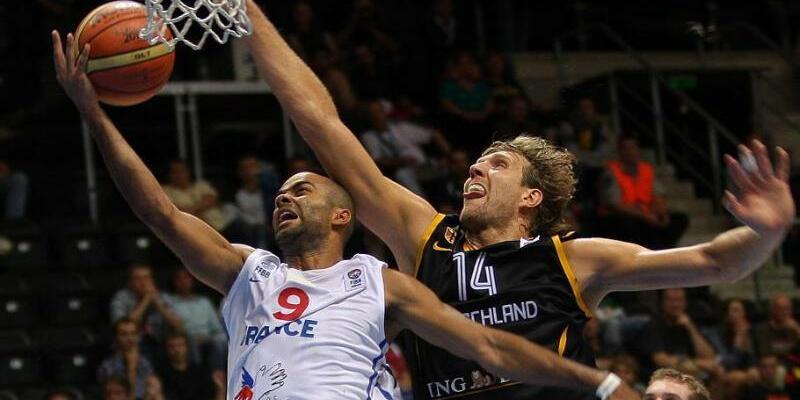 Basketball EM  2011 - Frankreich - Deutschland - Foto: Robert Ghement