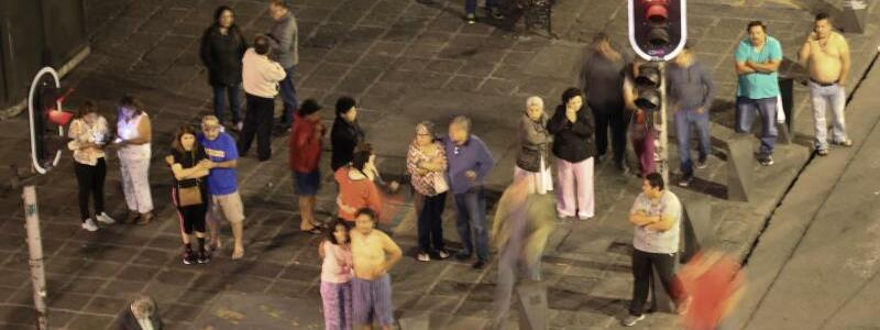 Schweres Erdbeben in Mexiko - Foto: El Universal via ZUMA Wire