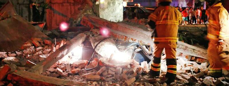 Rettungskräfte - Foto: Agustin Salinas/El Universal via ZUMA Wire