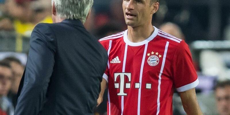 Ancelotti und Müller - Foto: Guido Kirchner
