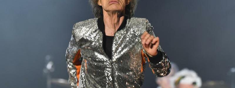 Rolling Stones - Foto: Faltig - aber verdammt fit:Mick Jagger. Foto:Carsten Rehder