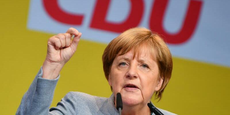 Merkel - Foto: Uwe Anspach