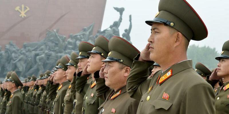 Nordkorea - Foto: Uncredited/Kyodo News