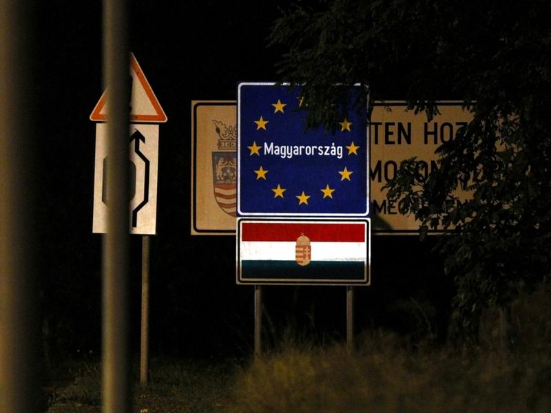 Ungarischer Grenzübergang - Foto: über dts Nachrichtenagentur