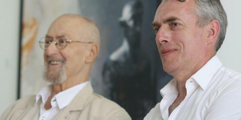 Arno Rink und Neo Rauch - Foto: Matthias Bein