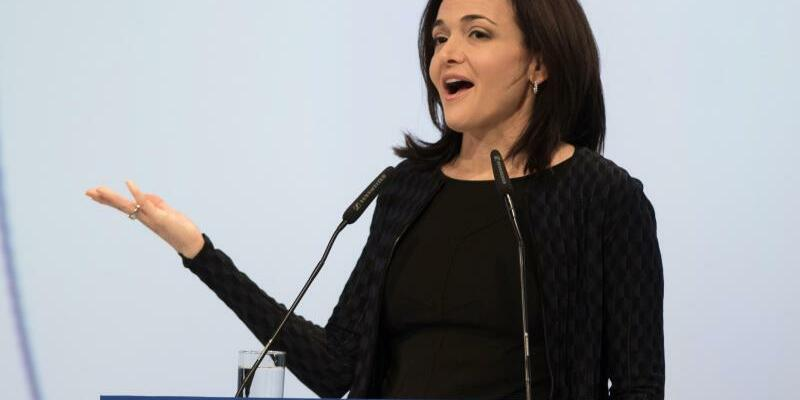 Sheryl Sandberg - Foto: Frank Rumpenhorst