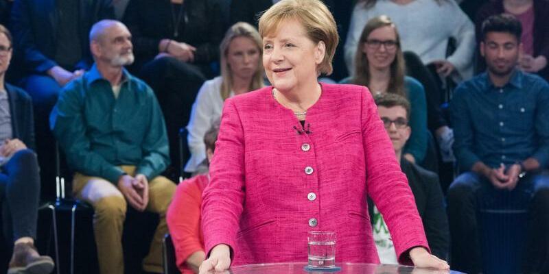 ZDF-Sendung «Klartext, Frau Merkel» - Foto: Jule Roehr