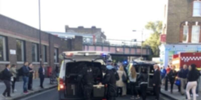 Metro-Haltestelle Parsons Green gesperrt - Foto: Uncredited/@RRIGS