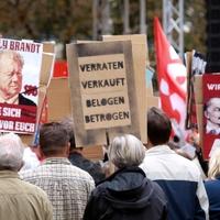 Protest von AfD-Sympathisanten - Foto: über dts Nachrichtenagentur
