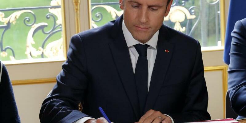 Emmanuel Macron - Foto: Philippe Wojazer