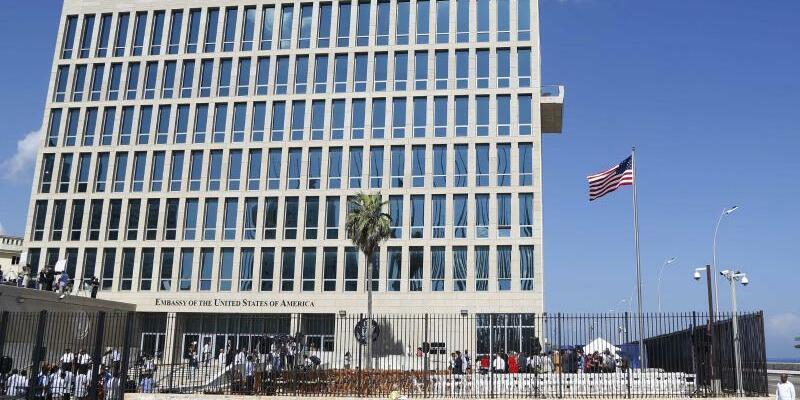 Die US-Botschaft in Kuba - Foto: Desmond Boylan/Archiv