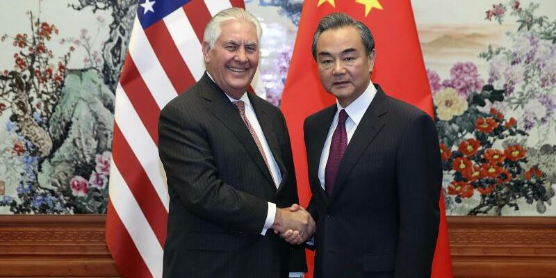 Tillerson in Peking - Foto: Lintao Zhang