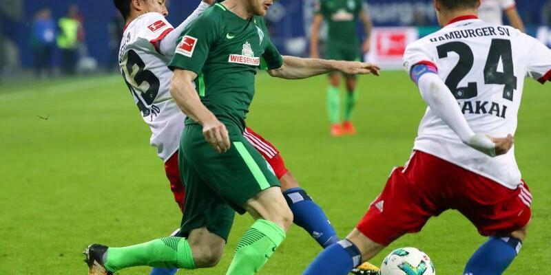 Hamburger SV - Werder Bremen - Foto: Das Nordderby zwischen dem Hamburger SV und Werder Bremen endete 0:0.Foto: