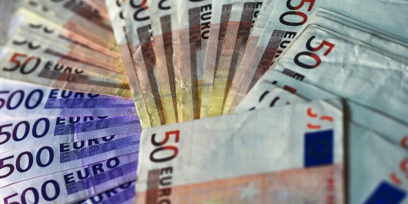 Euro-Noten - Foto: Jens Kalaene