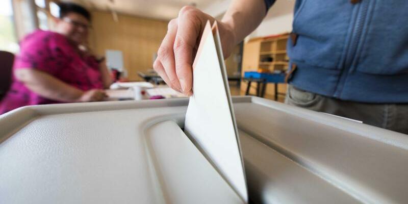 Stimmabgabe bei Bundestagswahl - Foto: Frank Rumpenhorst