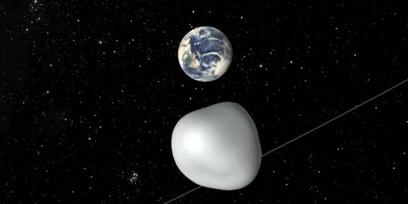 Asteroid 2012 TC4 - Foto: NASA/JPL-Caltech