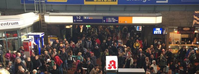 Hamburger Hauptbahnhof - Foto: Thomas Müller