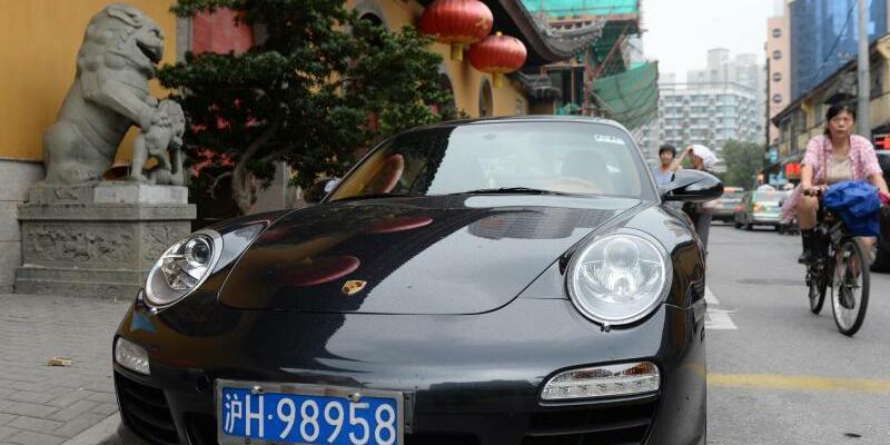 Porsche in China - Foto: Jens Kalaene