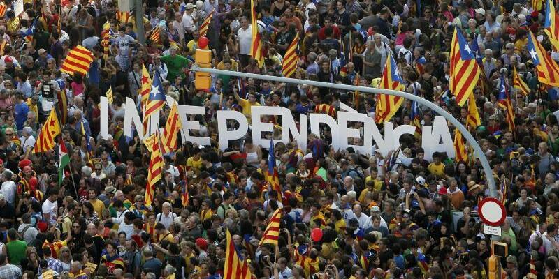 Protest in Barcelona - Foto: Marta Perez