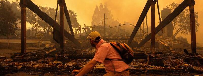 Waldbrände in Kalifornien - Foto: Peter Thoshinsky