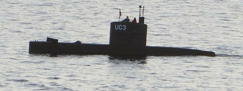 Dänisches U-Boot «Nautilus» - Foto: Das U-Boot «Nautilus» beim Auslaufen in Kopenhagen. Foto:Peter Thompson
