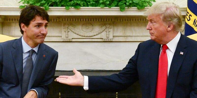 Trump trifft Trudeau - Foto: Sean Kilpatrick/The Canadian Press