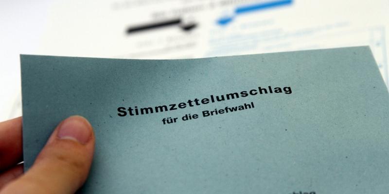Stimmzettelumschlag für die Briefwahl - Foto: über dts Nachrichtenagentur