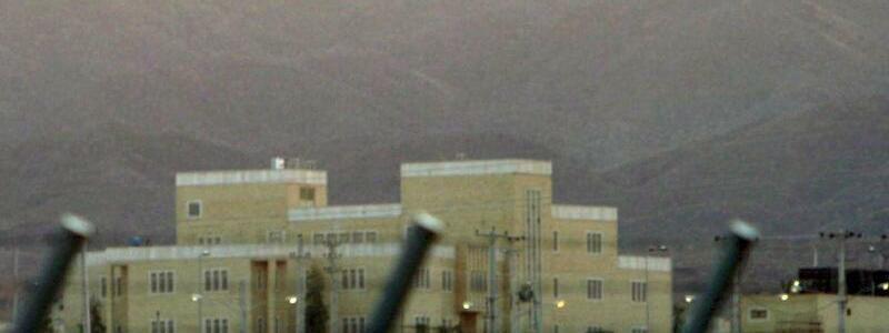 Nuklearanlage Natans - Foto: InNatans im Zentraliran kann Uran angereichert werden. Foto:Abedin Taherkenareh