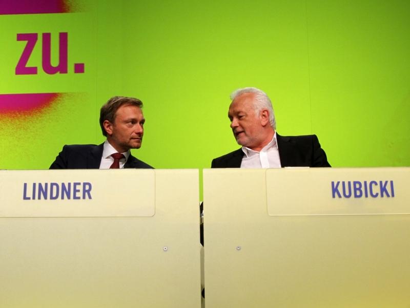 Christian Lindner und Wolfgang Kubicki - Foto: über dts Nachrichtenagentur