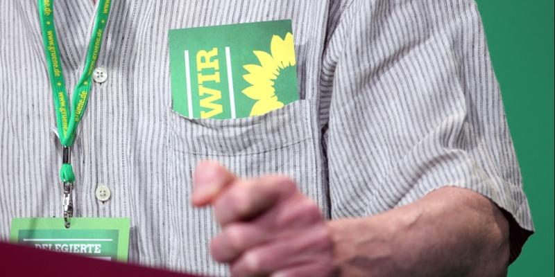 Delegierter hält Rede auf Grünen-Parteitag - Foto: über dts Nachrichtenagentur