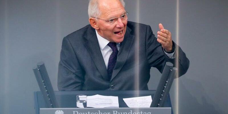 Wolfgang Schäuble - Foto: Wolfgang Schäuble sitzt seit 1972 im Bundestag und ist dienstältester Abgeordneter. Foto:Kay Nietfeld