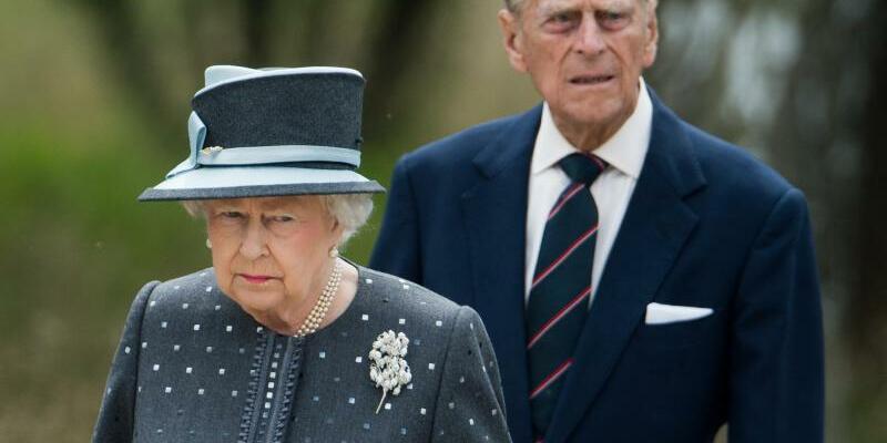 Queen Elizabeth II. + Prinz Philip - Foto: Julian Stratenschulte