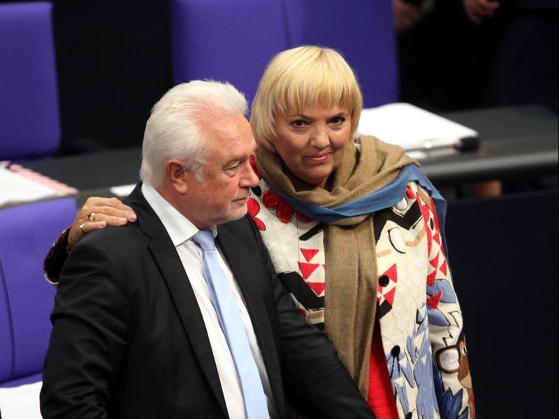 Wolfgang Kubicki und Claudia Roth - Foto: über dts Nachrichtenagentur