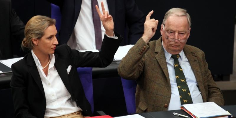 Alice Weidel und Alexander Gauland - Foto: über dts Nachrichtenagentur