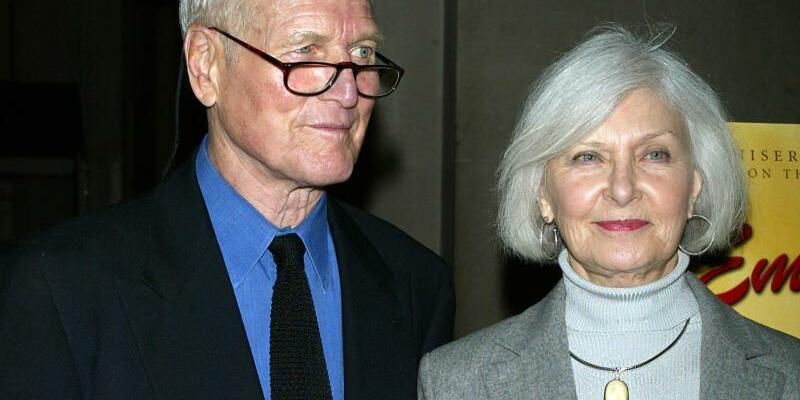 Paul Newman& Joanne Woodward - Foto: epa