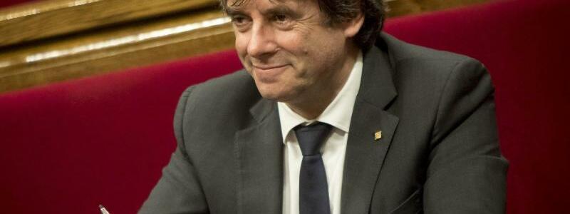 Carles Puigdemont - Foto: Albert Salamé