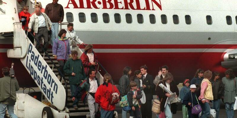 Air Berlin vor 21 Jahren - Foto: Peter Brenneken